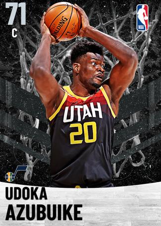 Udoka Azubuike silver card