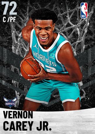 Vernon Carey Jr. silver card