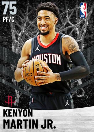 Kenyon Martin Jr. silver card