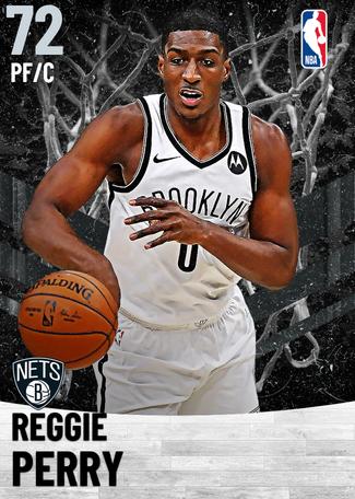 Reggie Perry silver card