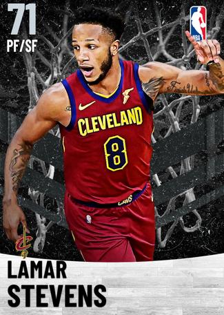 Lamar Stevens silver card