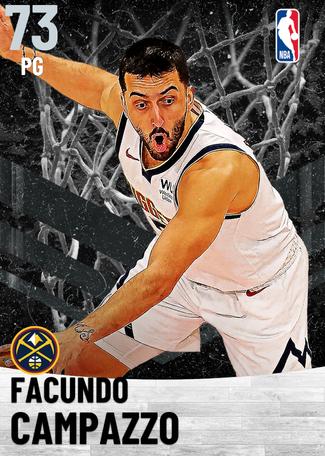 Facundo Campazzo silver card