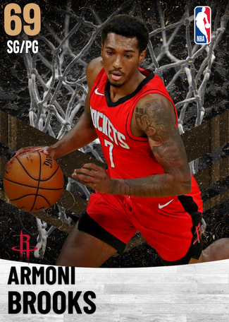 Armoni Brooks bronze card