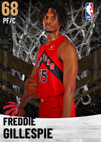 Freddie Gillespie bronze card