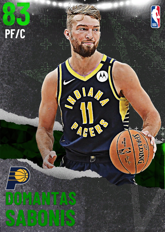 Domantas Sabonis emerald card