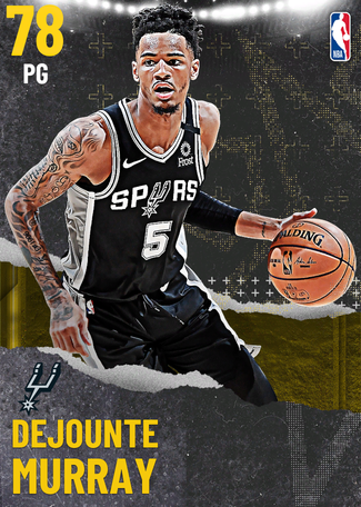 Dejounte Murray gold card