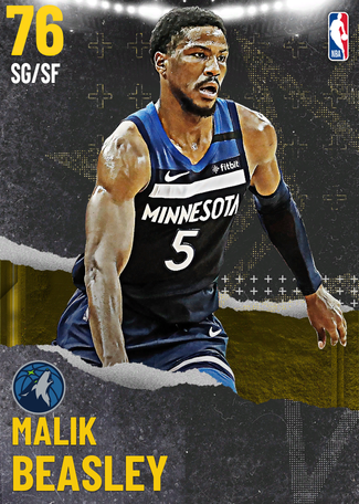 Malik Beasley gold card