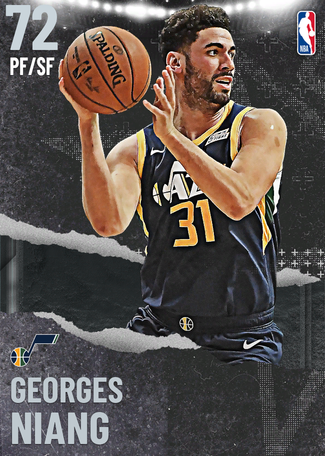 Georges Niang silver card