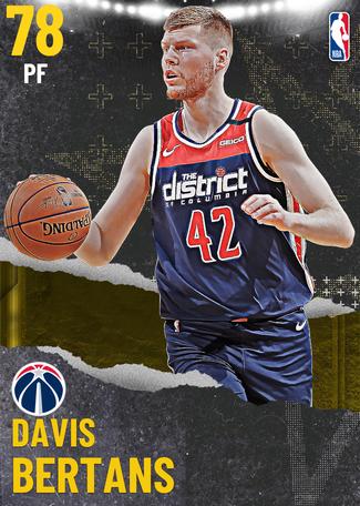 Davis Bertans gold card