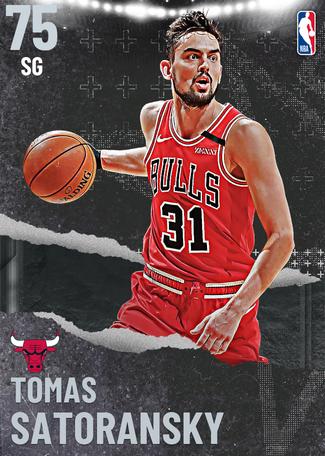 Tomas Satoransky silver card