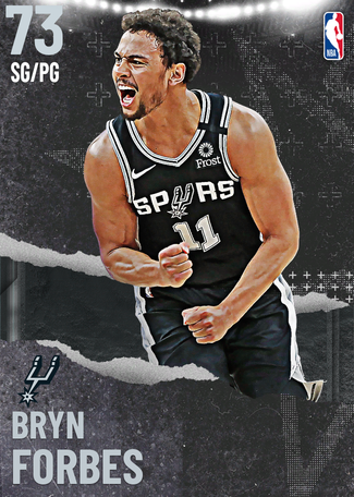 Bryn Forbes silver card