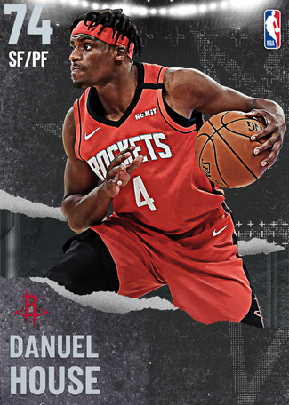 Danuel House silver card