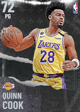 Quinn Cook silver card
