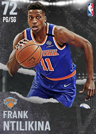 Frank Ntilikina silver card