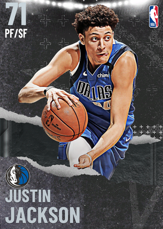 Justin Jackson silver card