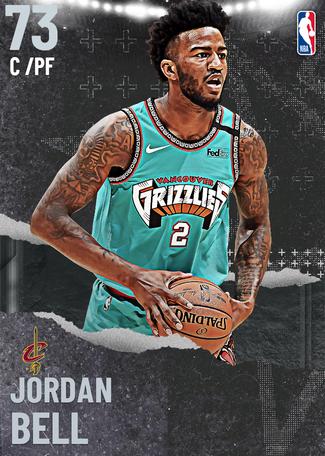 Jordan Bell silver card