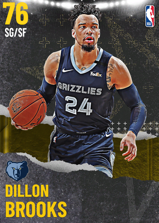 Dillon Brooks gold card
