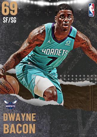 Dwayne Bacon bronze card