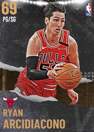 Ryan Arcidiacono bronze card