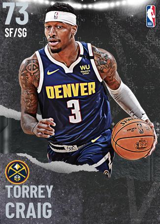Torrey Craig silver card