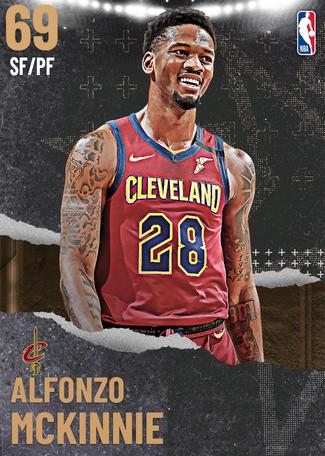 Alfonzo McKinnie bronze card