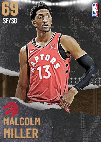 Malcolm Miller bronze card