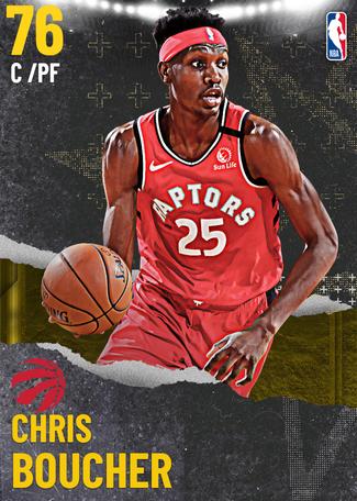 Chris Boucher gold card