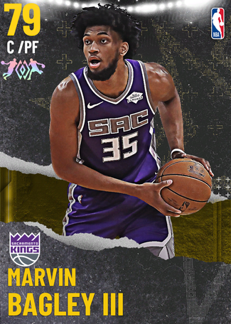 Marvin Bagley III gold card