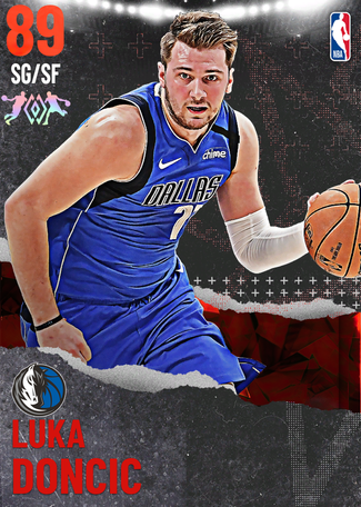 Luka Doncic ruby card