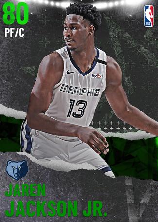 Jaren Jackson Jr. emerald card