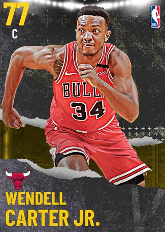 Wendell Carter Jr. gold card