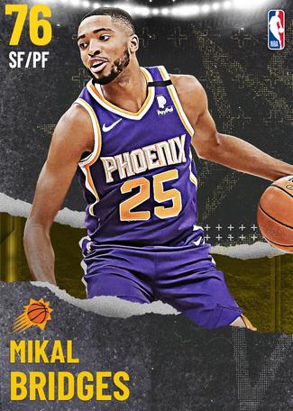 Mikal Bridges gold card