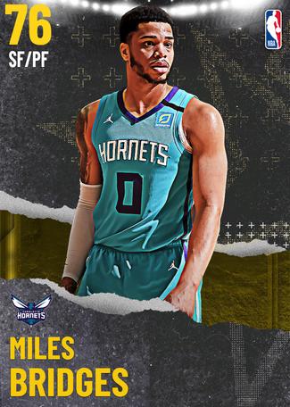 Miles Bridges gold card