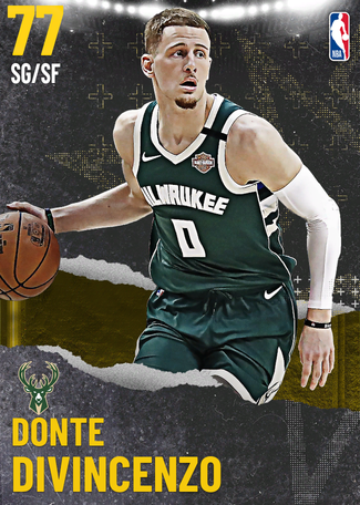 Donte DiVincenzo gold card
