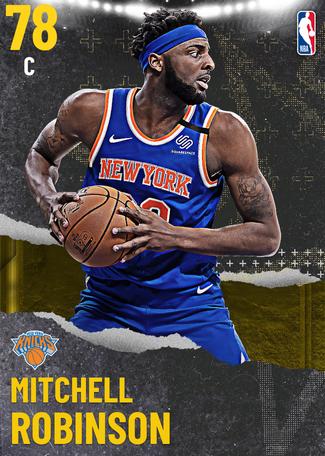 Mitchell Robinson gold card