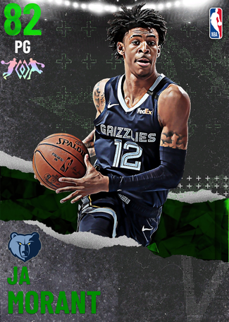 Ja Morant emerald card