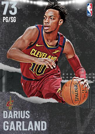 Darius Garland silver card