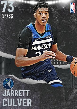 Jarrett Culver silver card
