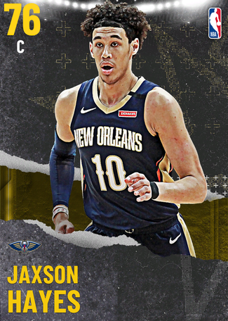 Jaxson Hayes gold card