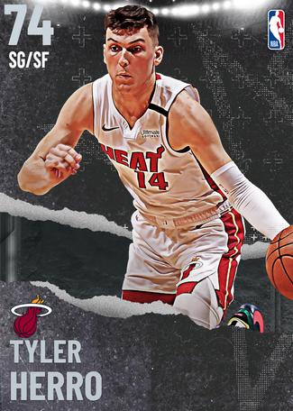 Tyler Herro silver card