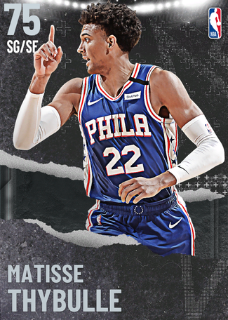 Matisse Thybulle silver card
