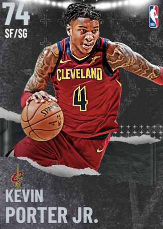 Kevin Porter Jr. silver card