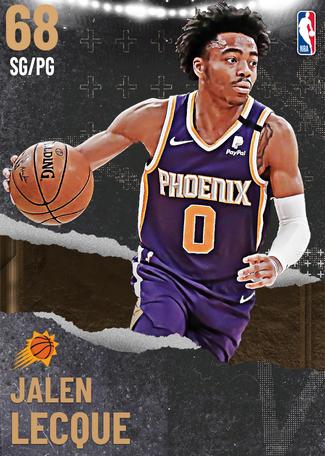 Jalen Lecque bronze card