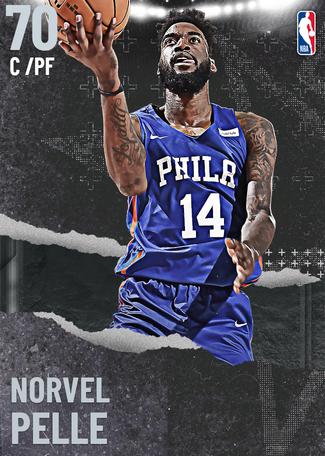 Norvel Pelle silver card