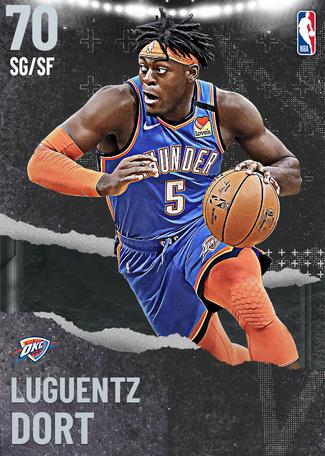 Luguentz Dort silver card