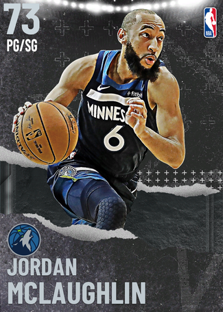 Jordan McLaughlin silver card