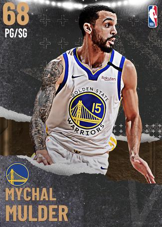 Mychal Mulder bronze card