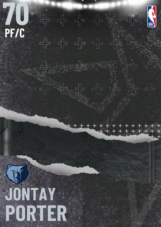 Jontay Porter silver card