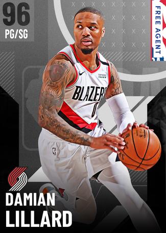Damian Lillard onyx card