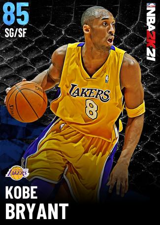 Kobe Bryant sapphire card